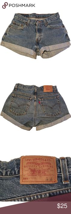 Levi 565 Shorts Levi denim shorts 565 in perfect condition! Levi's Shorts Jean Shorts