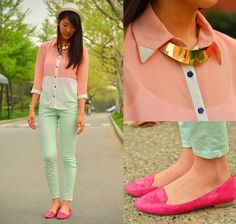 Pastel (enter my giveaway!) (by Stephanie Huang) http://lookbook.nu/look/3356399-Pastel-enter-my-giveaway