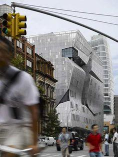 Cooper Union Square, New York City. Thom Mayne. Morphosis. 2009