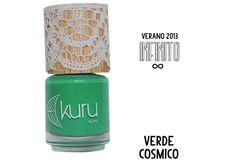 Kuru Esmaltes: Verde Cosmico - ¡Disponible en Kichink!