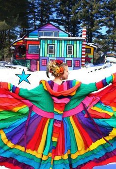 Rainbow, arcoiris Elf Coat by Katwise - Rainbow Magic, Love Rainbow, Taste The Rainbow, Over The Rainbow, Rainbow Colors, Rainbow Stuff, Rainbow Candy, Happy Colors, True Colors