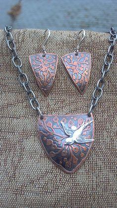 etching metal acid   acid etched copper original design