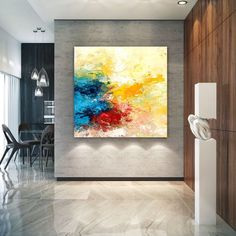 Extra Large Wall Art Original Art Bright Abstract Original Painting On Canvas Extra Large Artwork Contemporary Art Modern Home Decor Large Abstract Wall Art, Colorful Abstract Art, Large Artwork, Large Canvas Wall Art, Extra Large Wall Art, Large Painting, Painting Canvas, Canvas Art, Art Original