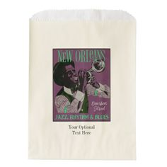 New Orleans Music favor bags