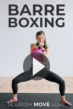 Let me be your instructor for the day with this upbeat CARDIO KICKBOXING HIIT WORKOUT! I'll coach you through 45 minutes of total body exercises designed to burn fat and calories and build lean muscle! Home Boxing Workout, Hiit Workout At Home, Home Workout Videos, Exercise Videos, Workout Plans, Cardio Kickboxing, Cardio Barre, Barre Fitness, Cardio Workouts
