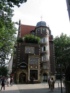 Hamburg  - See this tower as a stand alone watch/wizard tower!