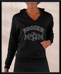 SOCCER MOM 1 RHINESTONE SHIRT ♥ love. For one day like 25 years into the future when I'm a soccer mom!