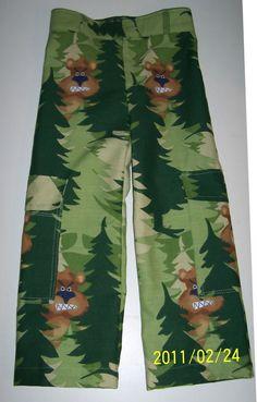 terepmintás gyereknadrág/ camouflage pants for boys