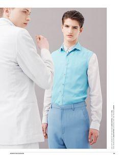 Mix It Up & Look Sharp: Ben Crank + Jake Love for Seventh Man image Pastel Mens Fashions 006