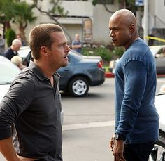 Chris O'Donnell and LL Cool J  NCIS: Los Angeles