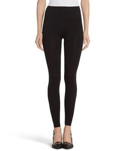 The Perfect Sleek and Smooth Leggings!  Great under your favorite tunic! (White House   Black Market Seamless Leggings #whbm)