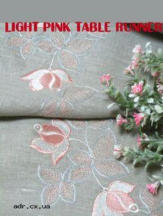 Light Pink Table Runner
