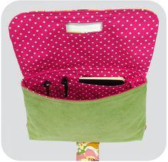 Strap Clutch PDF Sewing Pattern Handbag by michellepatterns