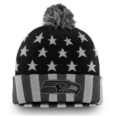 ee35352be Men s Seattle Seahawks NFL Pro Line by Fanatics Branded Black Gray  Americana Stars and