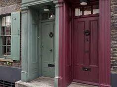 Image result for fournier street london Georgian Doors, Front Doors, Tall Cabinet Storage, Entrance, England, Exterior, Windows, London, Street