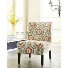 Honnally Floral Accent Chair by Ashley 5330260