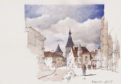 L'éloquence du dessin: La Bourgogne Romane