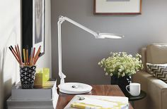 Element Disc™ LED Table Lamps - Task Lamps - Office - Room & Board