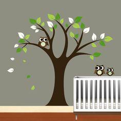 Kids Vinyl Wall Decals Tree Decal  Nursery Birds by NurseryWallArt, $99.99