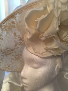 This amazing cream hatinator will be worn by a mother of the bride who drove a long long way and slept in the local car park in Tadcaster in a campervan so she could choose a wedding hat from Simply Devine! Mother of the brides/grooms always amaze me!