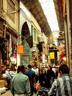 Tehran Bazaar (it reminds me of Argo)