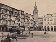 Sevilla: Plaza de San Francisco - Ayuntamiento (1868-1874)