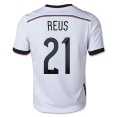 Germany 2014 REUS Youth Home Soccer Jersey