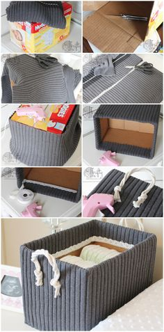 10 Low Cost DIY Storage Boxes You Can Easily Make