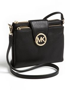 Michael Michael Kors Fulton Crossbody Bag Black