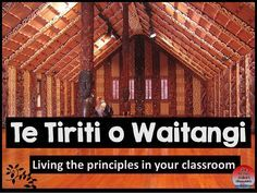 Te reo Māori resource-Treaty of Waitangi. Explores the principles and how to use them in your teaching practice.