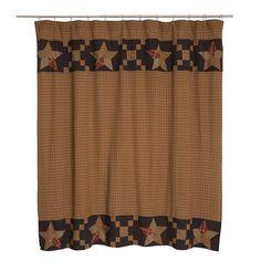 Arlington Shower Curtain - Primitive Star Quilt Shop - 1