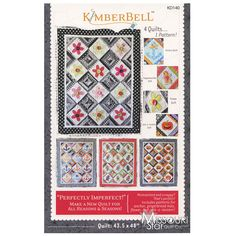Perfectly Imperfect Quilt Pattern from Missouri Star Quilt Co