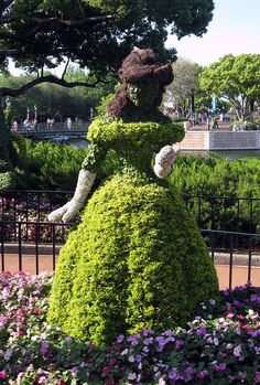 EPCOT International Flower and Garden Festival - Topiary