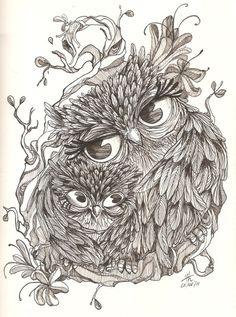 Owl Tattoo Ideas On Pinterest