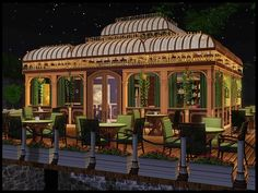 Cute Cafe Sims 3