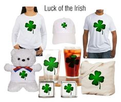 """Luck of the Irish"" by kashmier ❤ liked on Polyvore featuring art"
