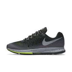 841f90c1a65b Nike Air Zoom Pegasus 33 Shield Men s Running Shoe Size 9.5 (Black) -  Clearance Sale