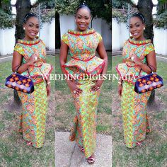 Check Out These Kente Vs Ankara Styles - Sisi Couture African Dresses For Women, African Print Dresses, African Print Fashion, Africa Fashion, African Fashion Dresses, African Attire, African Wear, African Women, Ghanaian Fashion