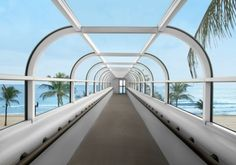 Skywalk to Beach - The Westin Beach Resort & Spa (Fort Lauderdale, Florida)