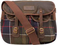 Barbour Tartan Messenger Bag