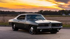 """The very popular Camrao A favorite for car collectors. The Muscle Car History Back in the and the American car manufacturers diversified their automobile lines with high performance vehicles which came to be known as """"Muscle Cars. Dodge Charger 1969, Poster Cars, Poster Retro, Dodge Muscle Cars, Muscle Cars Vintage, Vintage Cars, Automobile, Dodge Srt, Auto Retro"""