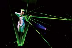Based in the UK, Lumina the Laser Violinist puts a futuristic spin on a classic instrument.