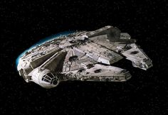 The Millenium Falcon in Star Wars