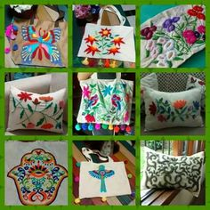 Bordado mexicano Embroidery Keka❤❤❤