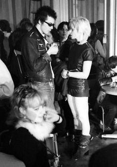 Sid Vicious and Vivienne Westwood. Probably around 1977.