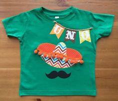 UNO Fiesta Sombrero Birthday Tee with Age by goldenSewCute on Etsy https://www.etsy.com/listing/240968028/uno-fiesta-sombrero-birthday-tee-with