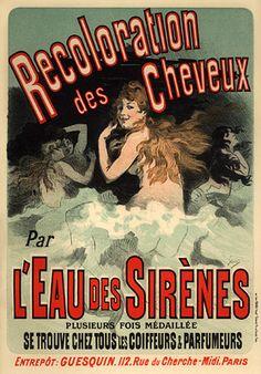 Jules Cheret, Eau des Sirenes