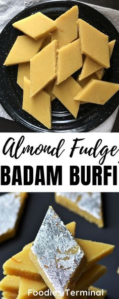 Quick and easy Badam Burfi made with Almond Flour. You'll love this easy Indian dessert recipe because it get's done in a jiffy and tastes outstanding. Make this Almond flour burfi at home with the best quality store bought almond flour. For such easy recipes follow my blog @foodiesterminal.com #badamburfirecipe #badambarfi #almondflourburfi #easyindiandessert #foodiesterminal