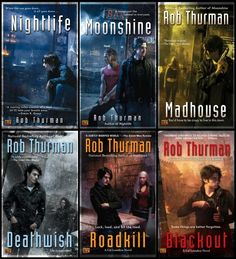 Cal Leandros Series by Rob Thurman