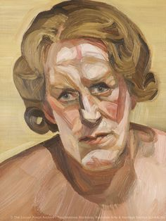 lucian freud portraits - Google Search